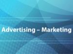 Advertising: Marketing
