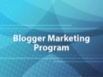 Blogger Marketing Program