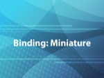 Binding: Miniature