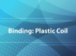 Binding: Plastic Coil