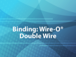 Binding: Wire-O® / Double Wire