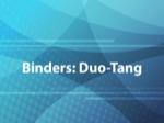Binders: Duo-Tang
