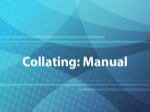 Collating: Manual