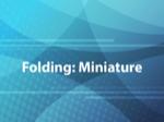 Folding: Miniature