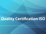 Quality Certification ISO
