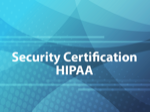 Security Certification HIPAA