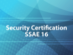 Security Certification SSAE 16