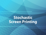 Stochastic Screen Printing