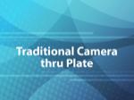 Traditional Camera thru Plate