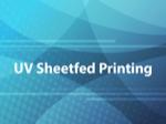 UV Sheetfed Printing