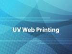 UV Web Printing