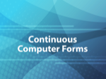 Continuous Computer Forms