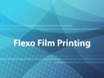 Flexo Film Printing