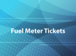 Fuel Meter Tickets