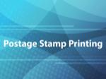 Postage Stamp Printing