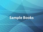 Sample Books