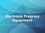 Electronic Prepress Equipment