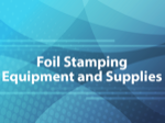 Foil Stamping Equipment and Supplies
