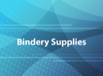 Bindery Supplies