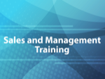 Sales and Management Training